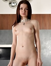 Pale Skinned Teen Beauty Knows How To Show Her Amazing Tight Pussy In Excellent Lighting As She Does