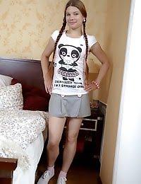 Juicy teen cutie gets her little pussy fucked