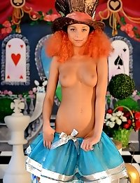 Super Sensual Babe Nude Posing In Unusual Environment. Fairy Tales In New Covering, Extra Passionate