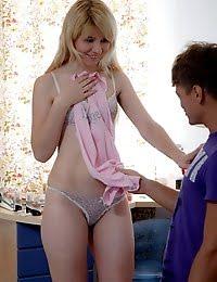 Sweet little teen hottie gets nailed hard