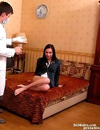 Impulsive Secretary And Gets A Huge Cock